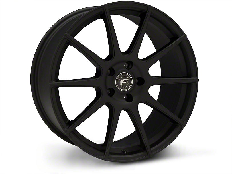 Forgestar CF10 Monoblock Textured Matte Black Wheel - 20x9 (15-18 GT, EcoBoost, V6)