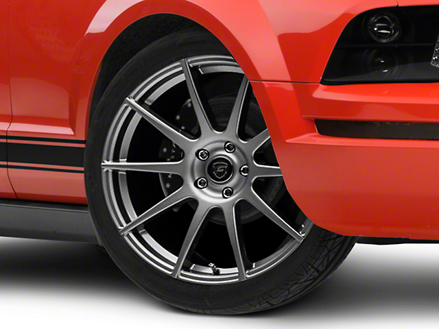 Forgestar CF10 Monoblock Gunmetal Wheel; 20x9 (05-09 All)