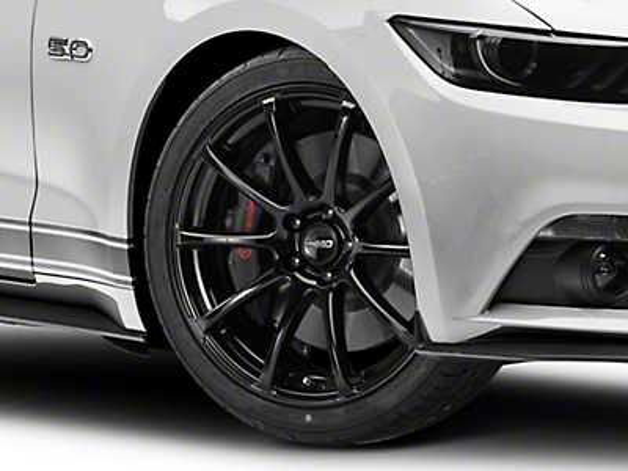 MMD Axim Black Wheel - 20x8.5 (15-18 GT, EcoBoost, V6)