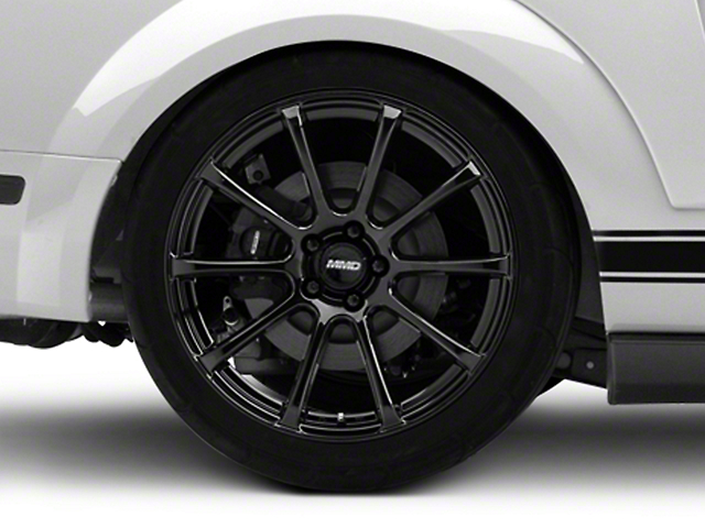 MMD Axim Black Wheel - 20x10 - Rear Only (05-14 All)