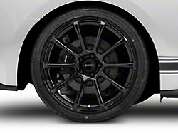 MMD Axim Black Wheel; Rear Only; 20x10 (15-20 GT, EcoBoost, V6)