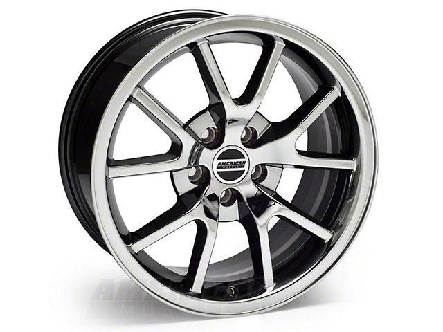 FR500 Style Black Chrome Wheel; 18x9 (94-04 All)