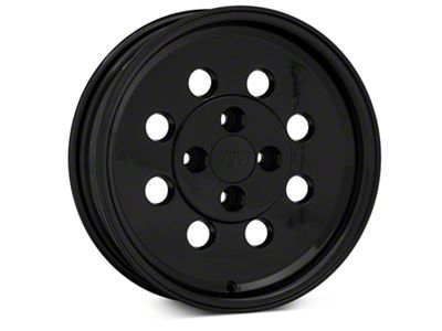Classic Drag Black Wheel - 15x4 - Front Only (79-93 All; Excluding Cobra)