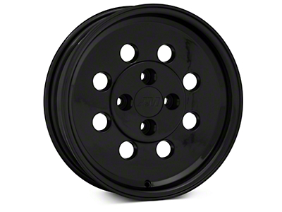 Classic Drag Black Wheel - 15x4 (79-93 All; Excluding Cobra)