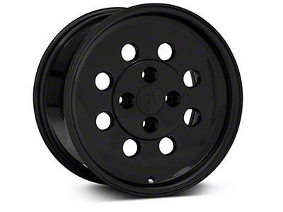 Classic Drag Black Wheel - 15x8 (79-93 All; Excluding 1993 Cobra)