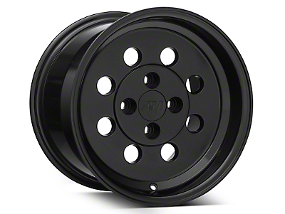 Classic Drag Black Wheel - 15x10 (79-93 All; Excluding Cobra)