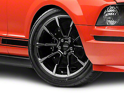 11/12 GT/CS Style Black Machined Wheel - 19x8.5 (05-14 All)