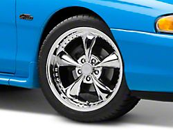 Bullitt Motorsport Chrome Wheel; 18x9 (94-98 All)