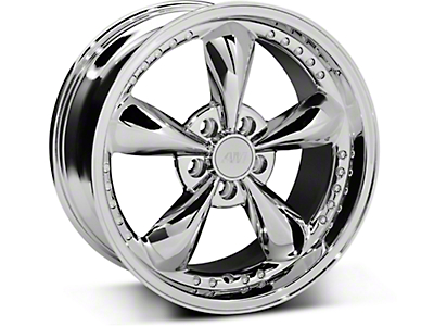 Bullitt Motorsport Chrome Wheel - 18x9 (87-93 5 Lug Conversion)