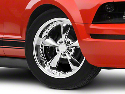 Bullitt Motorsport Chrome Wheel - 18x9 (05-14 Standard GT, V6)