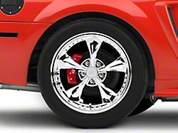 Bullitt Motorsport Chrome Wheel; Rear Only; 18x10 (99-04 All)
