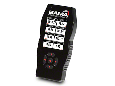 Bama X4/SF4 Power Flash Tuner w/ 2 Custom Tunes (10-12 GT500)