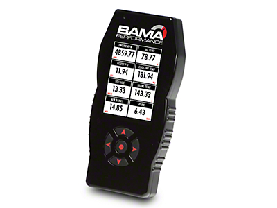 Bama X4/SF4 Power Flash Tuner w/ 2 Custom Tunes (15-17 V6)