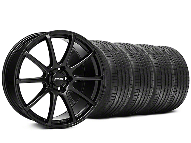 MMD Axim Gloss Black Wheel & Sumitomo Tire Kit - 20x8.5 (05-14 All)