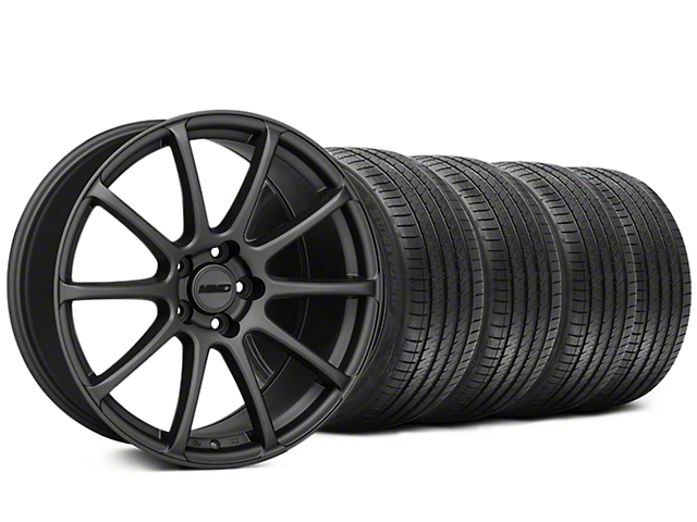 MMD Axim Charcoal Wheel and Sumitomo Maximum Performance HTR Z5 Tire Kit; 20x8.5 (05-14 All)