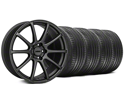 MMD Axim Charcoal Wheel & Sumitomo Tire Kit - 20x8.5 (05-14 All)