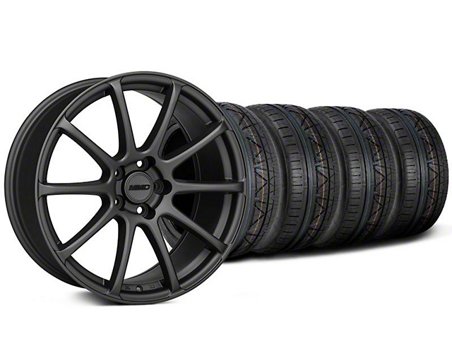 Staggered MMD Axim Charcoal Wheel & NITTO INVO Tire Kit - 20x8.5/10 (05-14 All)