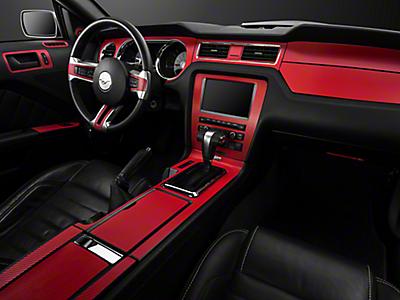 2010 2014 Mustang Interior Trim Americanmuscle Com