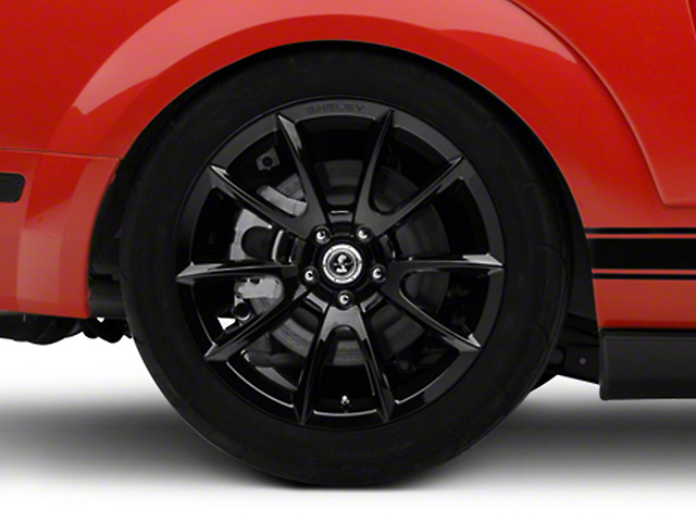 Shelby Super Snake Style Black Wheel - 19x10 - Rear Only (05-14 All)