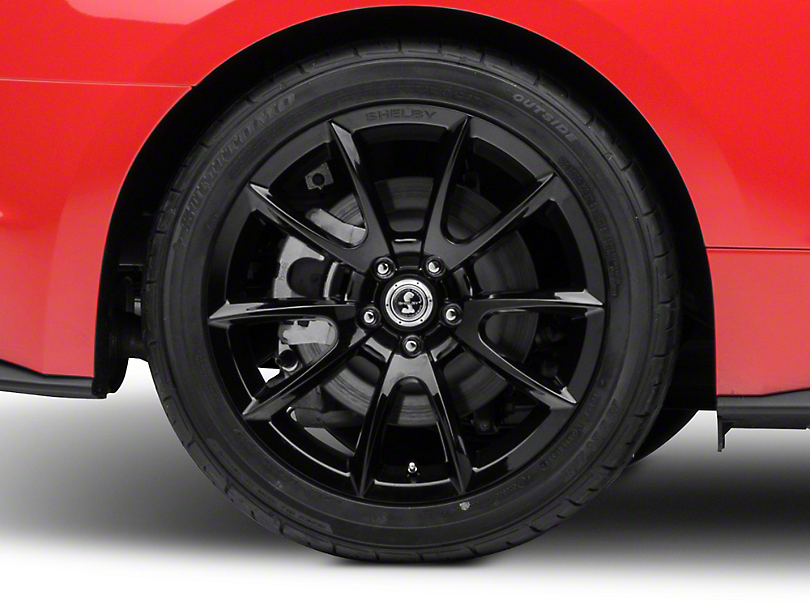Shelby Super Snake Style Black Wheel - 19x10 (15-17 All)