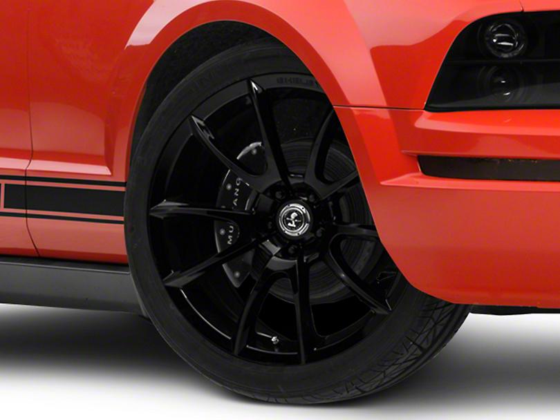 Shelby Super Snake Style Black Wheel - 20x9 (05-14 All)