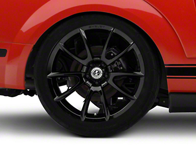 Shelby Super Snake Style Black Wheel - 20x10 (05-14 All)