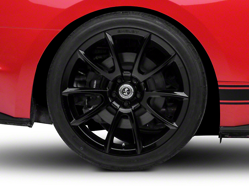 Shelby Super Snake Style Black Wheel - 20x10 - Rear Only (15-19 GT, EcoBoost, V6)
