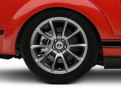 Shelby Super Snake Style Charcoal Wheel; Rear Only; 19x10 (05-09 All)