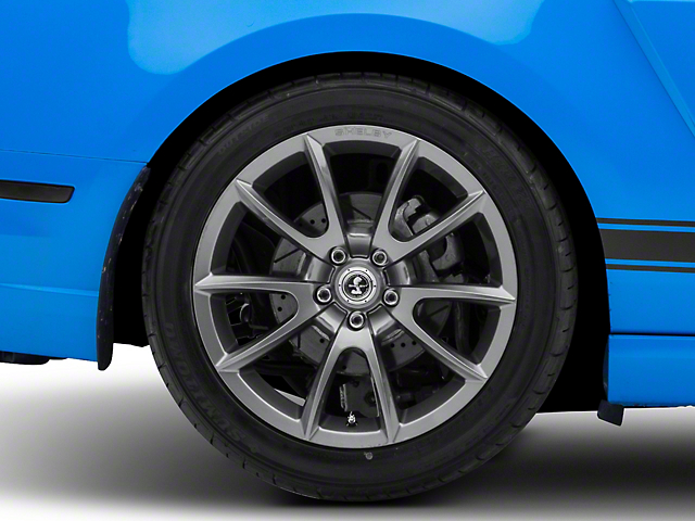 Shelby Super Snake Style Charcoal Wheel; Rear Only; 19x10 (10-14 All)