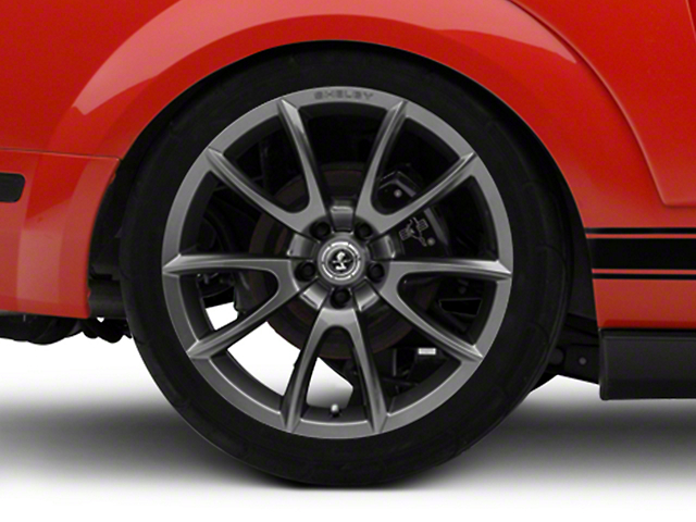 Shelby Super Snake Style Charcoal Wheel; Rear Only; 20x10 (05-09 All)