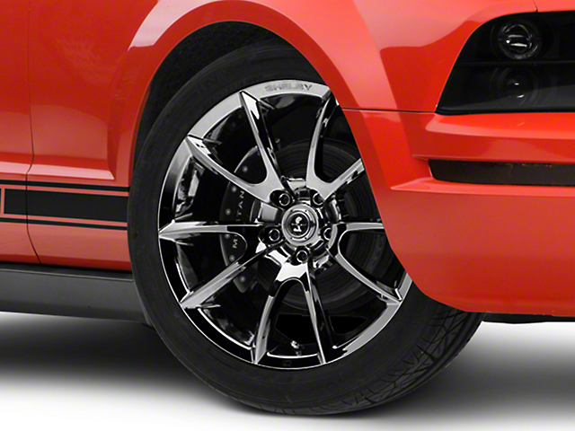 Shelby Super Snake Style Chrome Wheel - 19x8.5 (05-14 All)