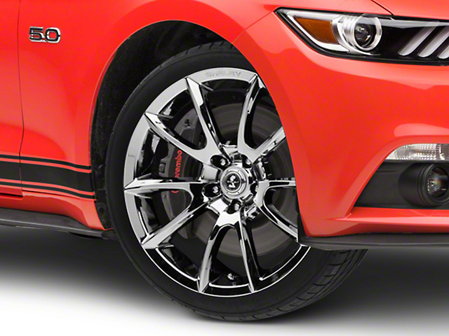 Shelby Super Snake Style Chrome Wheel - 19x8.5 (15-20 GT, EcoBoost, V6)