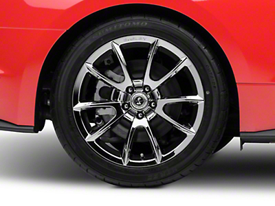 Shelby Super Snake Style Chrome Wheel - 19x10 (15-17 All)