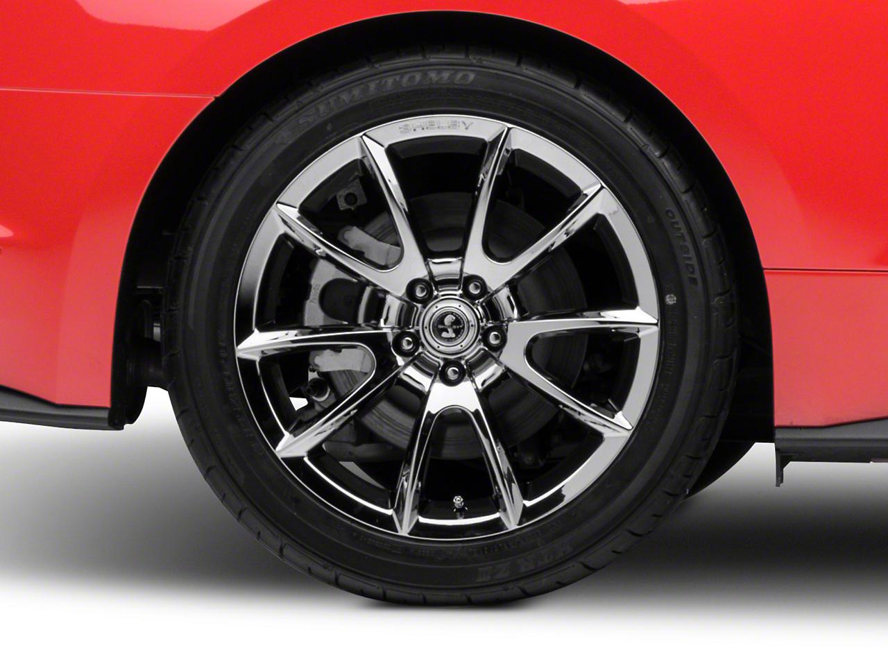 Shelby Super Snake Style Chrome Wheel - 19x10 (15-19 GT, EcoBoost, V6)