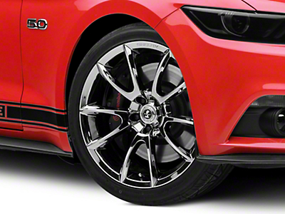 Shelby Super Snake Style Chrome Wheel - 20x9 (15-17 All)