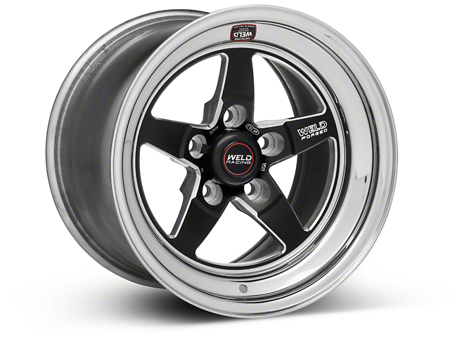 Weld Racing RT-S S71 Black Wheel; 15X10 (94-04 All)