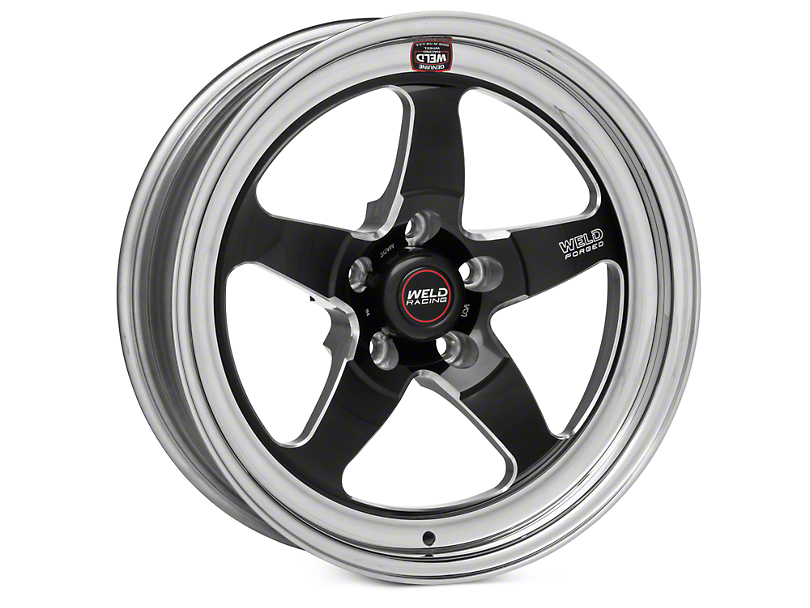 Weld Racing RT-S S71 Black Wheel - 17X5 (11-14 Brembo GT; 12-13 BOSS; 07-12 GT500)