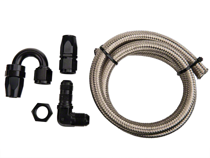 Nitrous Outlet 180 Degree Blow Down Kit - 90 Deg Fitting (79-19 All)