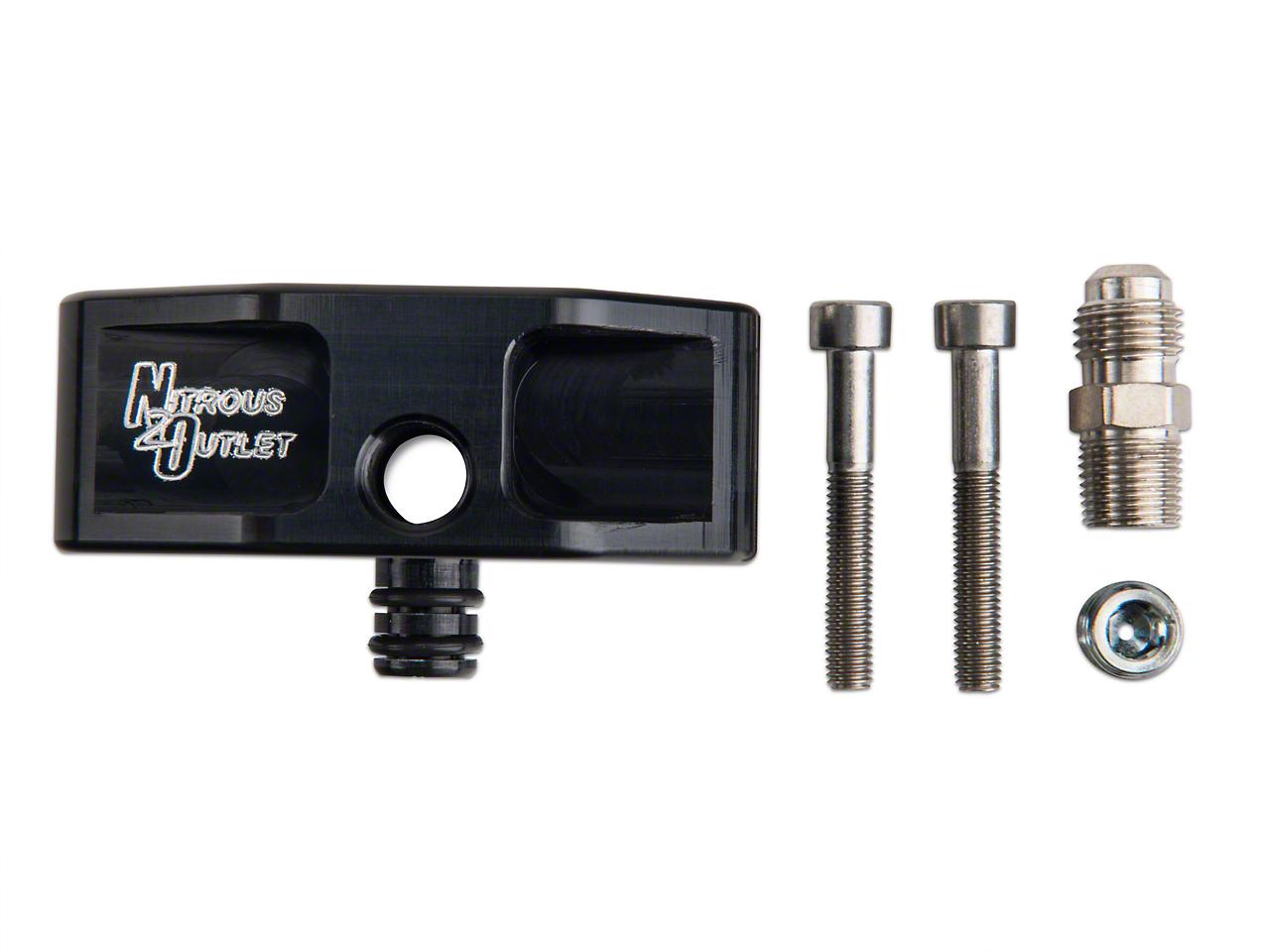 Nitrous Outlet Fuel Rail Adapter (99-04 GT)