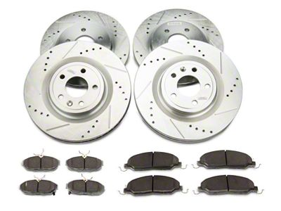 Power Stop EBR1452 Autospeciality Stock Replacement Front Brake Rotor