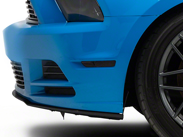 American Muscle Graphics Side Marker Light Tint; Smoked (13-14 All)