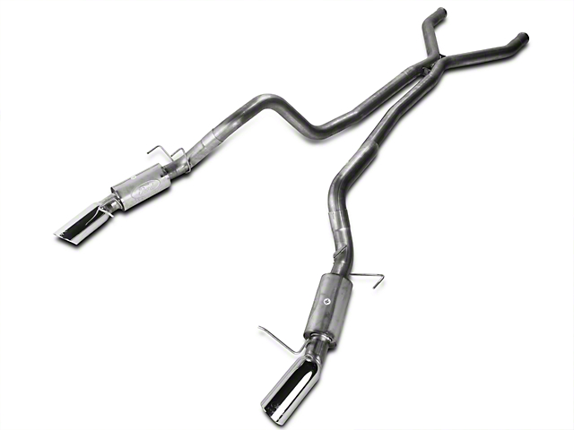 Ford Performance 3 Inch Cat-Back Exhaust (11-14 GT; 11-12 GT500)