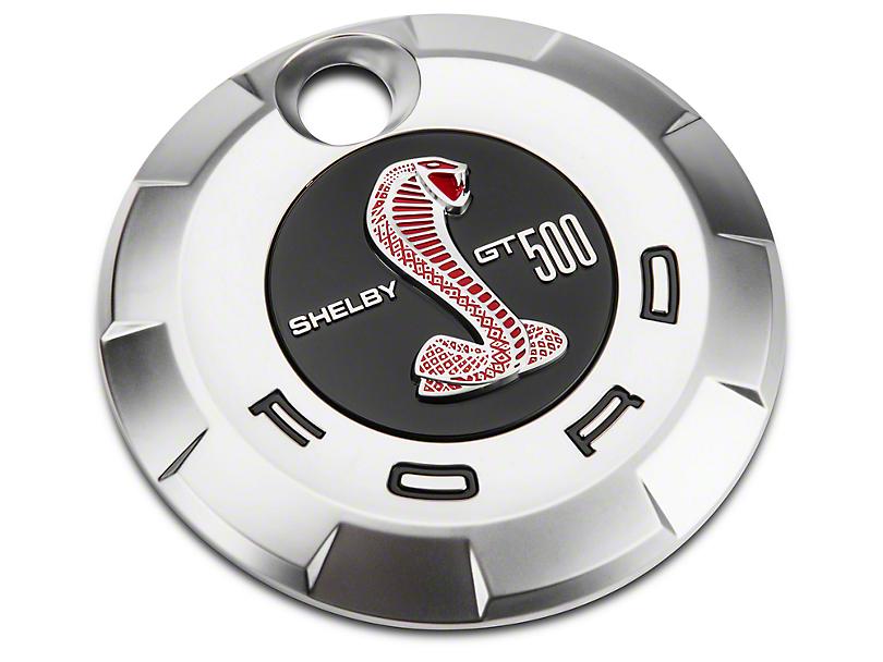 Ford GT500 Rear Decklid Emblem - Red (07-09)