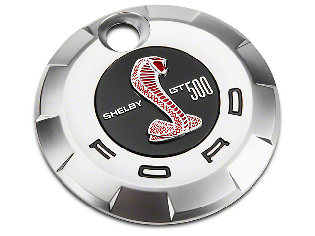 Ford GT500 Rear Decklid Emblem - Red (07-09 All)