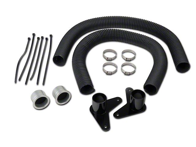 JLT Brake Cooling Kit - Silver Bezels (13-14 GT, V6)