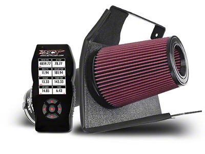 JLT Cold Air Intake and BAMA X4 Tuner (10-12 GT500)