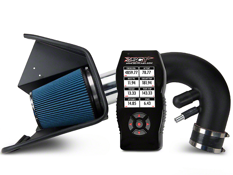 Steeda Cold Air Intake and BAMA X4 Tuner (11-14 GT w/ Manual Transmission)