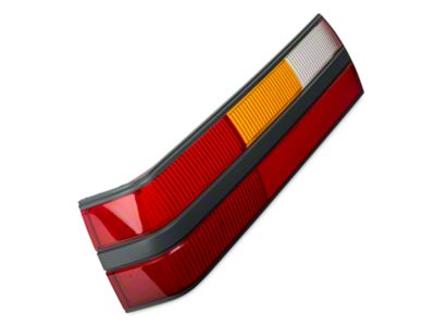 OPR Replacement Tail Light Lens - Left Side (85-86 All)