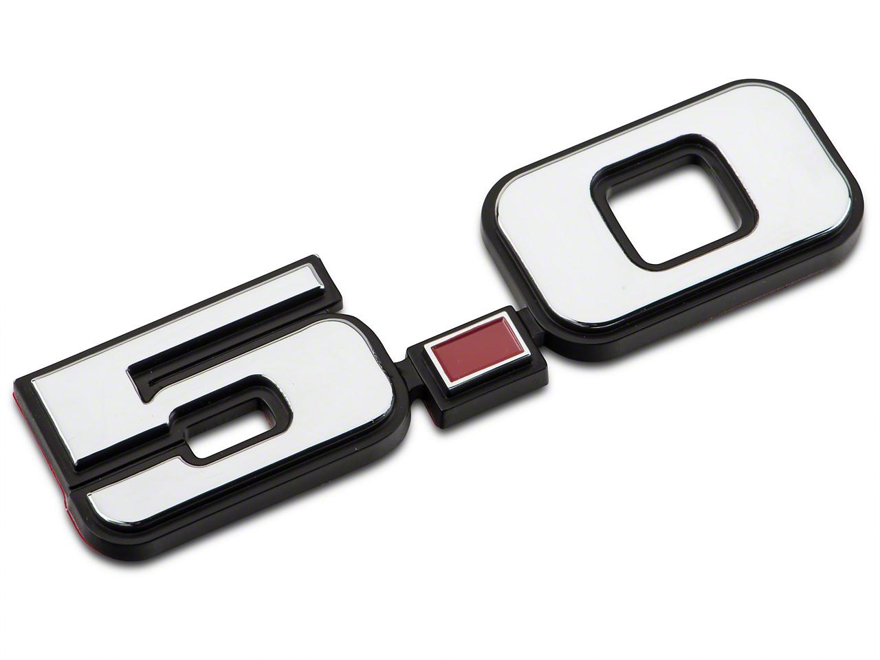 OPR Foxbody Style 5.0 Fender Emblem