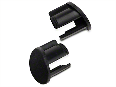 OPR Black Door Armrest Plugs - Left Side (87-93 All)